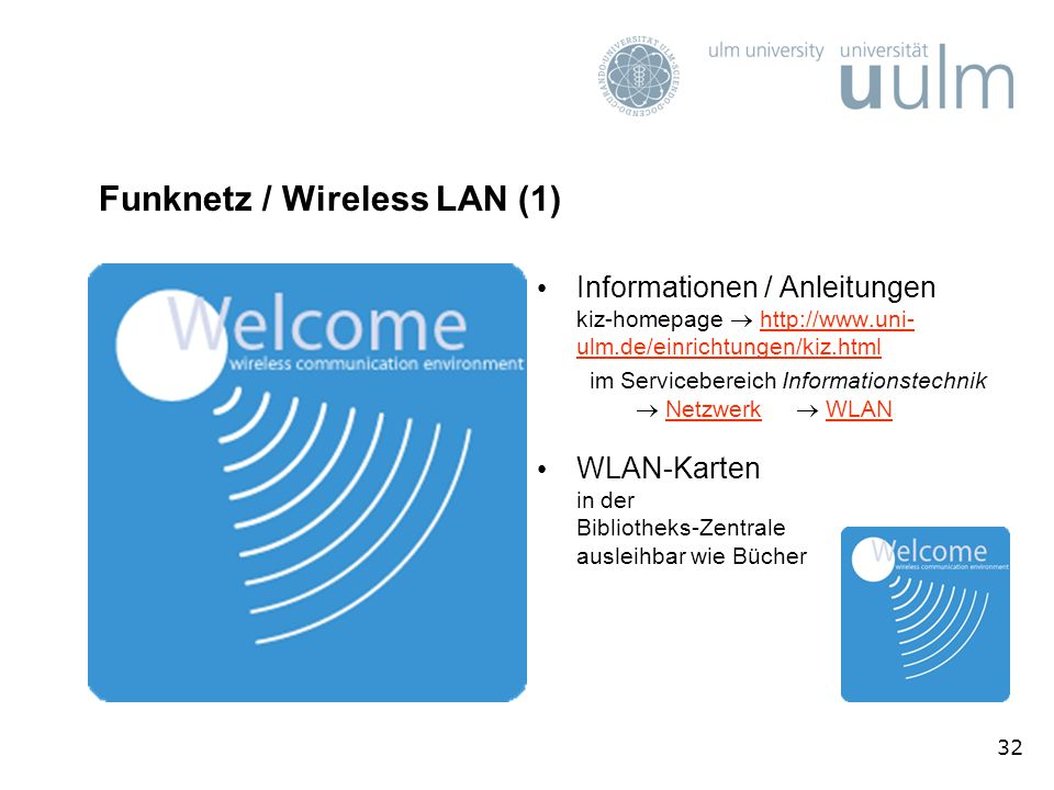 Funknetz / Wireless LAN (1)