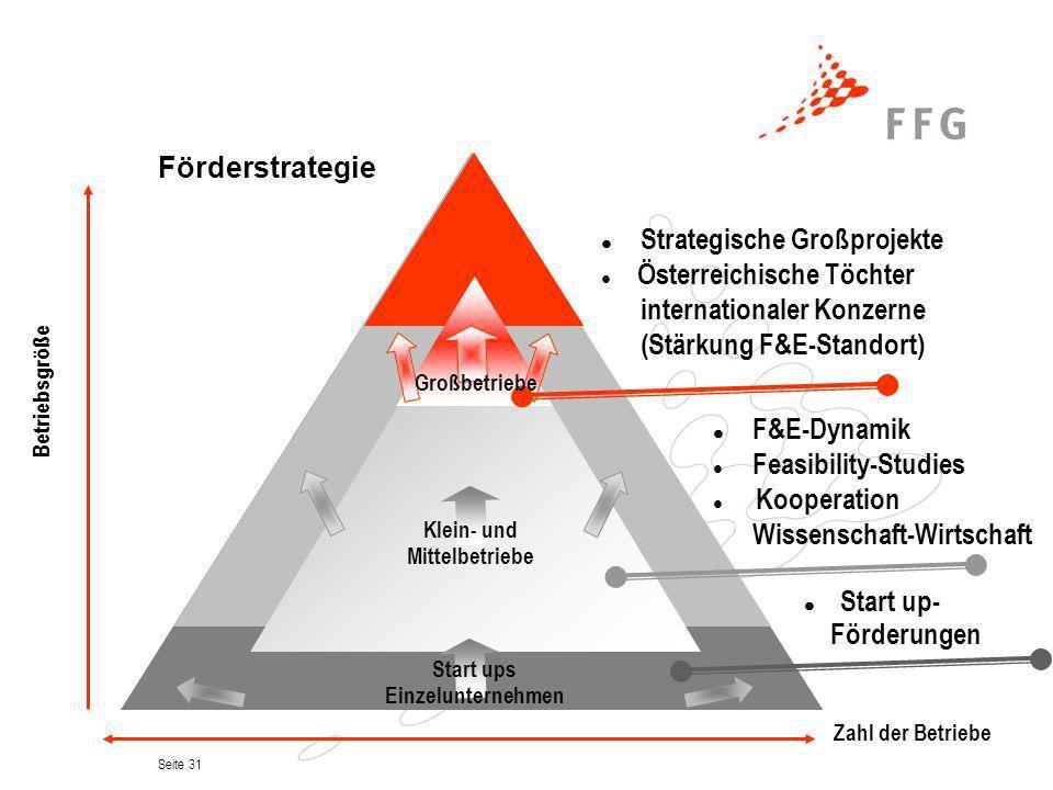 internationaler Konzerne (Stärkung F&E-Standort)