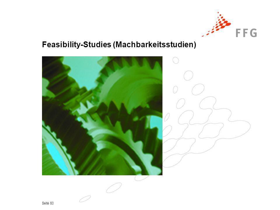 Feasibility-Studies (Machbarkeitsstudien)