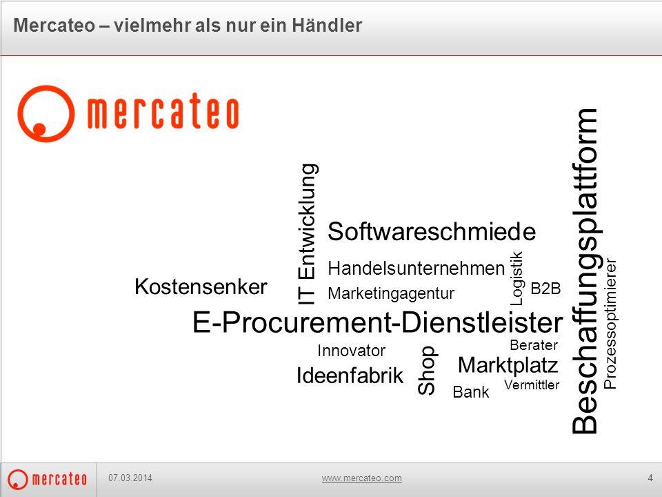 Mercateo – vielmehr als nur ein Händler