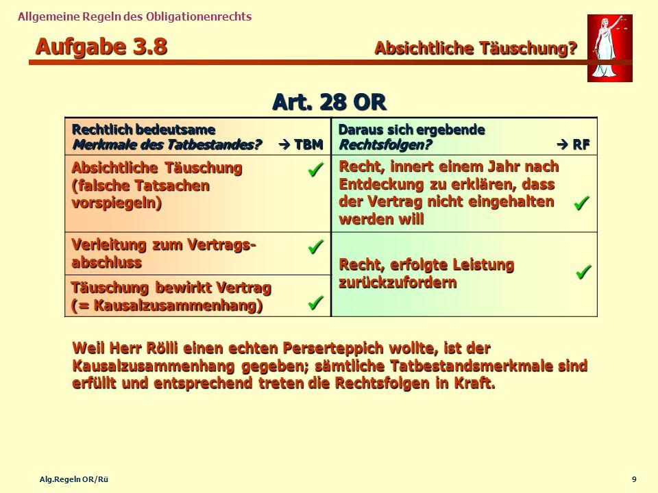 Aufgabe 3.8 Absichtliche Täuschung