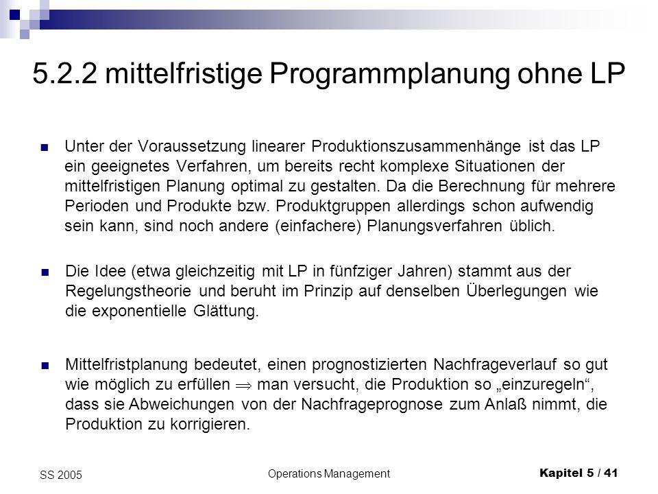 5.2.2 mittelfristige Programmplanung ohne LP