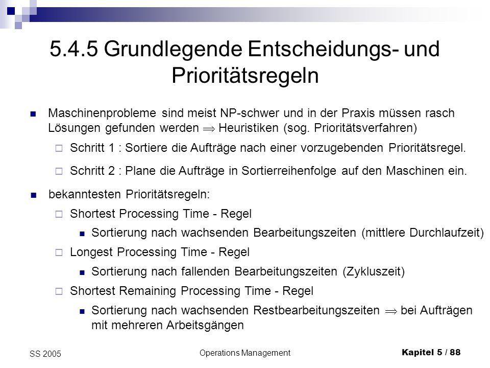 5.4.5 Grundlegende Entscheidungs- und Prioritätsregeln