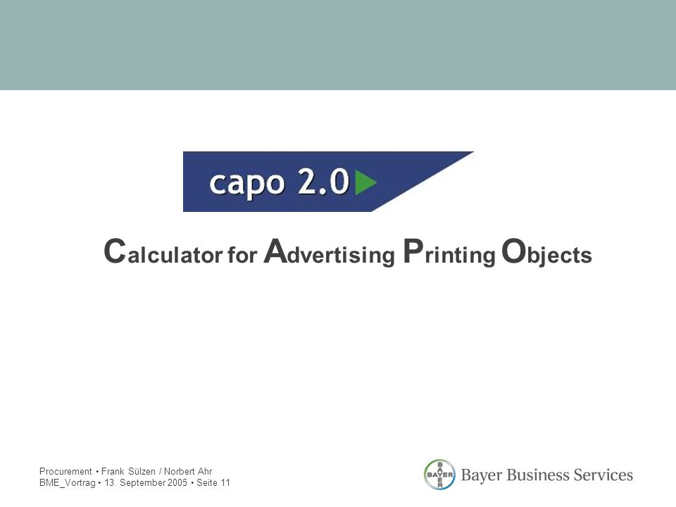 Calculator for Advertising Printing Objects