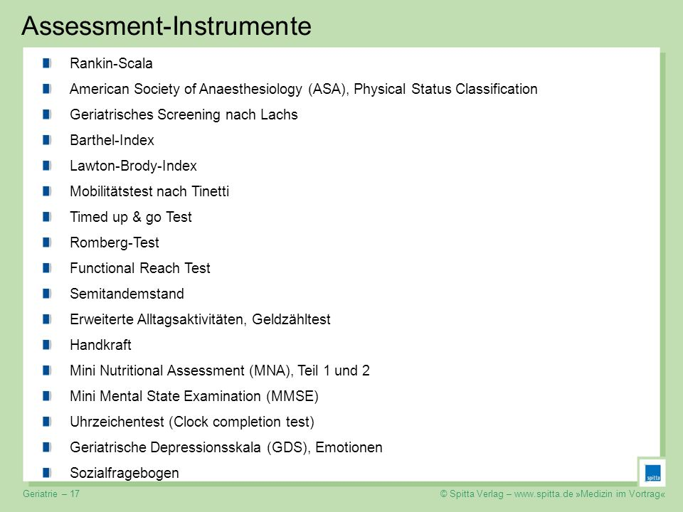 Assessment-Instrumente