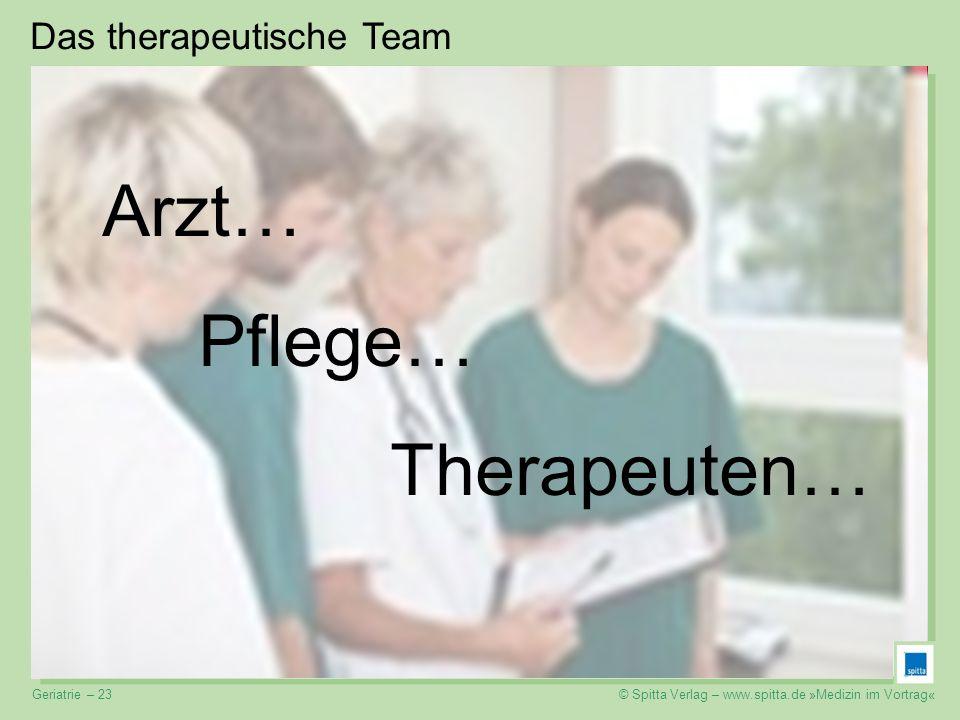 Das therapeutische Team