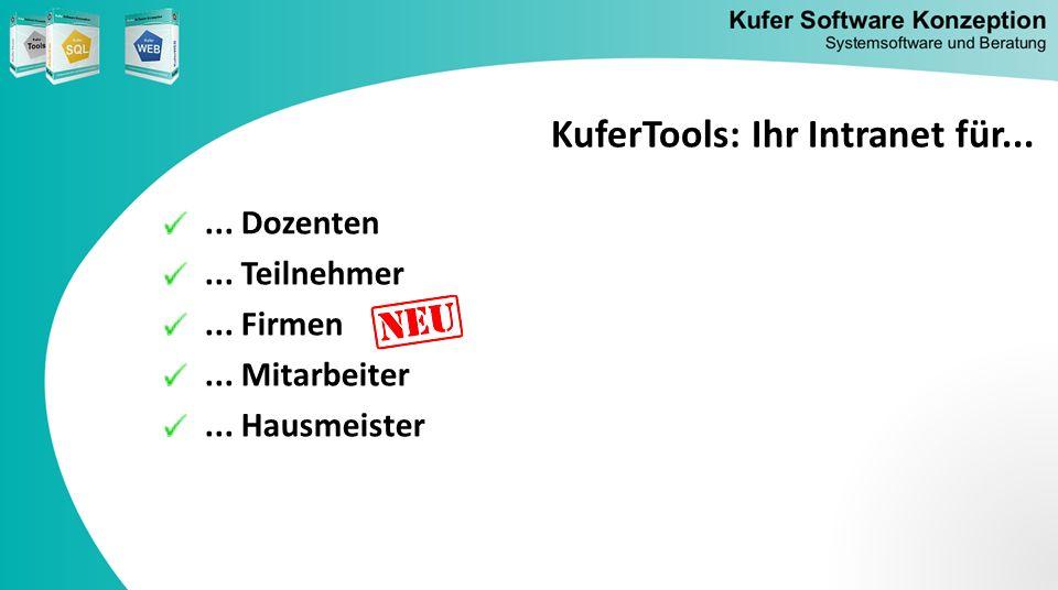 KuferTools: Ihr Intranet für...
