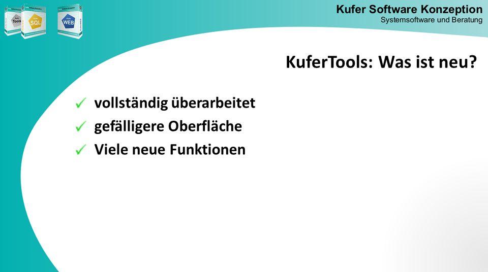 KuferTools: Was ist neu