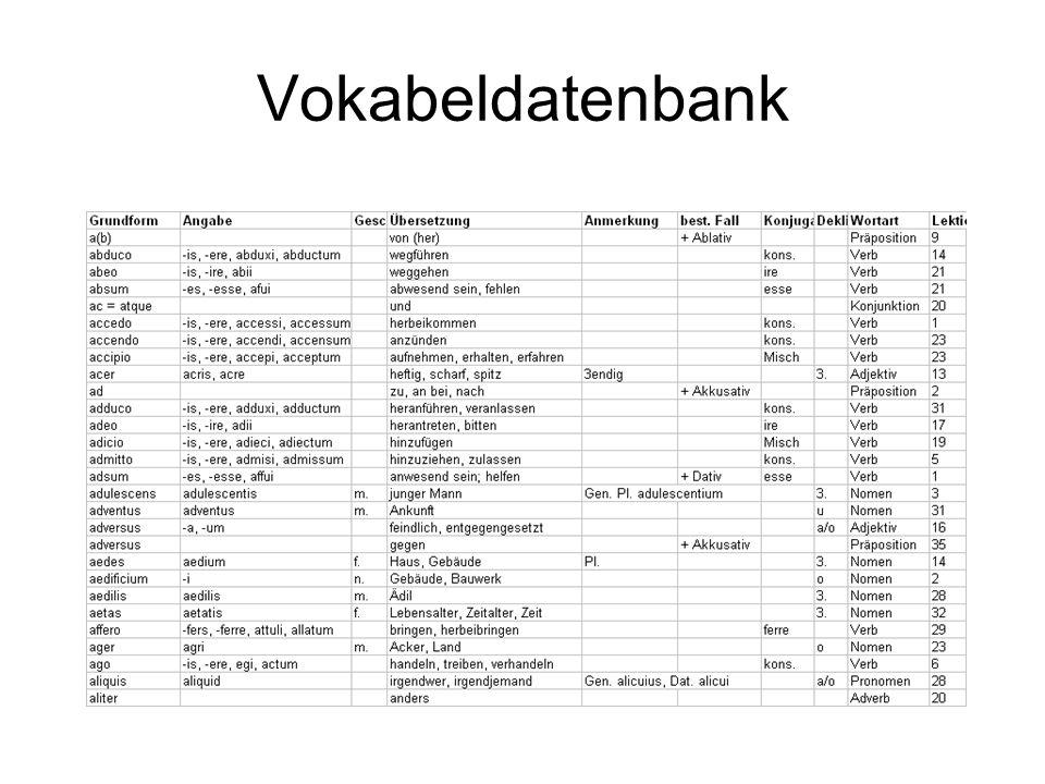 Vokabeldatenbank