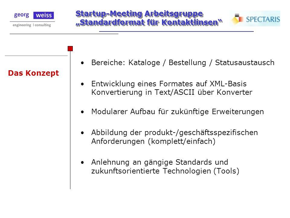 Bereiche: Kataloge / Bestellung / Statusaustausch