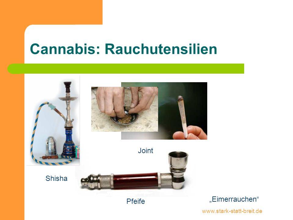 Cannabis: Rauchutensilien