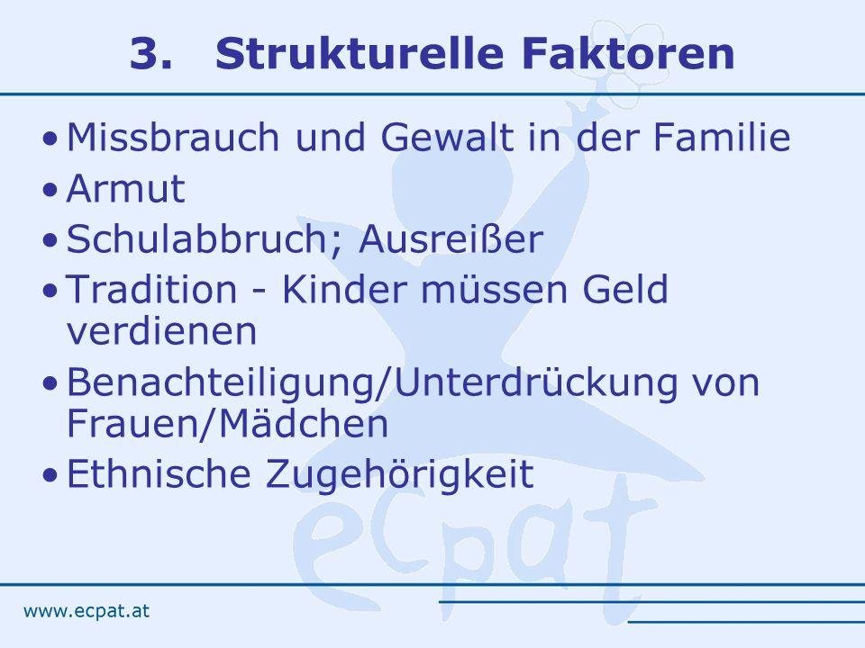 3. Strukturelle Faktoren