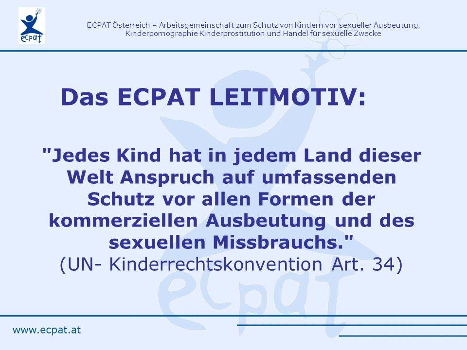 Das ECPAT LEITMOTIV:
