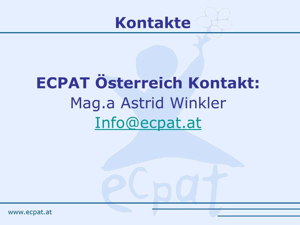 ECPAT Österreich Kontakt: