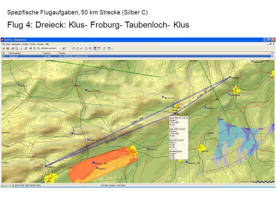 Flug 4: Dreieck: Klus- Froburg- Taubenloch- Klus