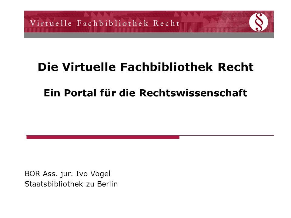 BOR Ass. jur. Ivo Vogel Staatsbibliothek zu Berlin