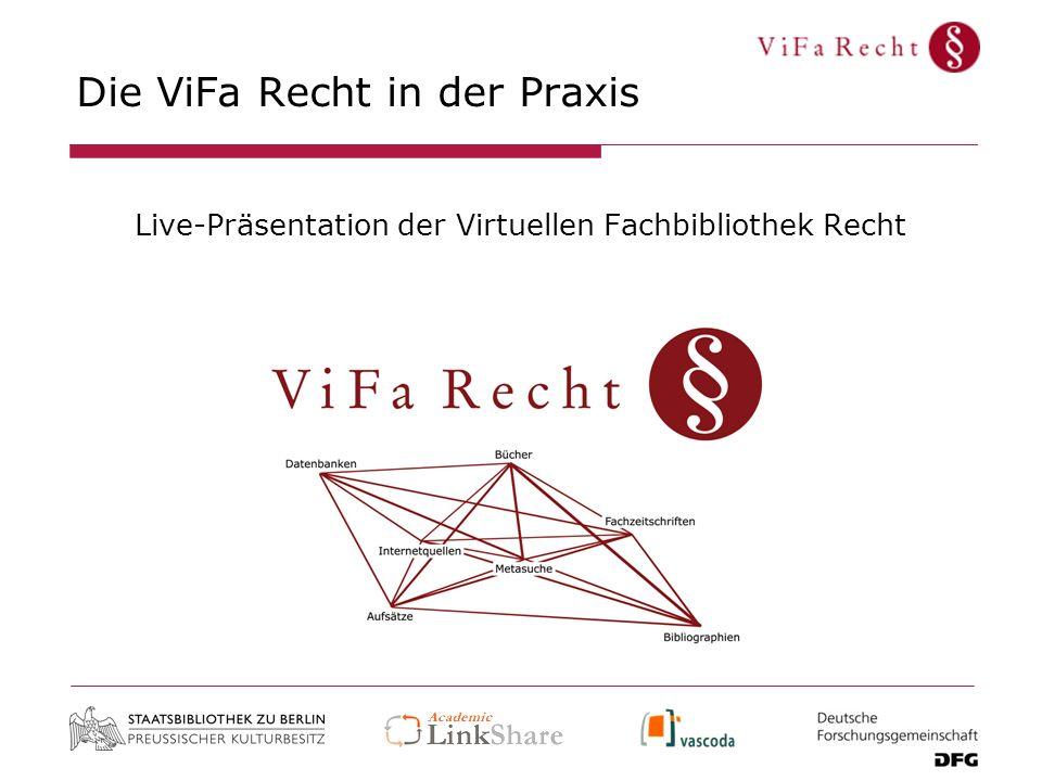 Die ViFa Recht in der Praxis
