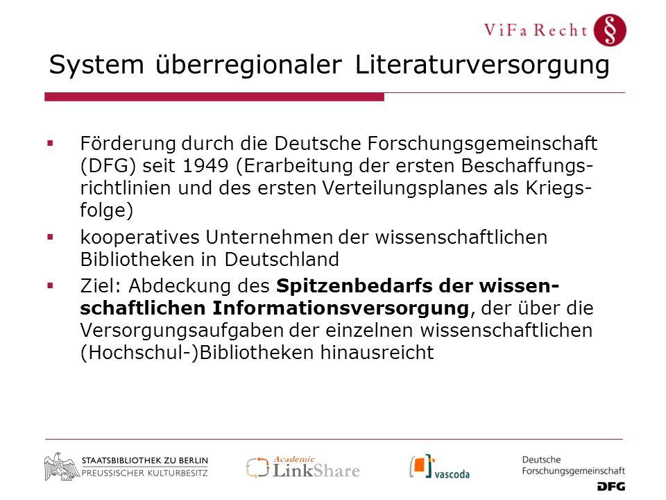 System überregionaler Literaturversorgung