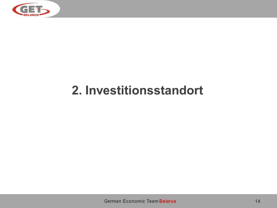 2. Investitionsstandort