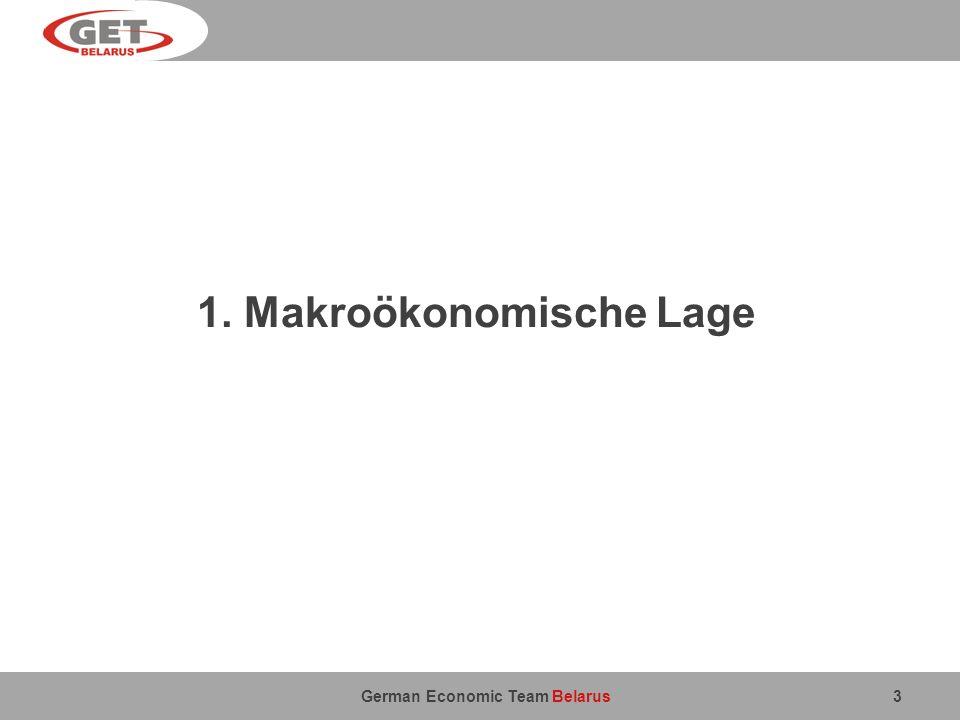 1. Makroökonomische Lage
