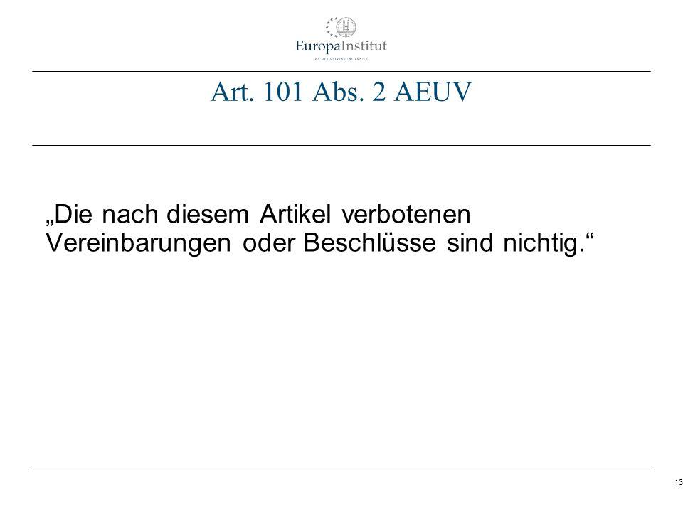 Art. 101 Abs.
