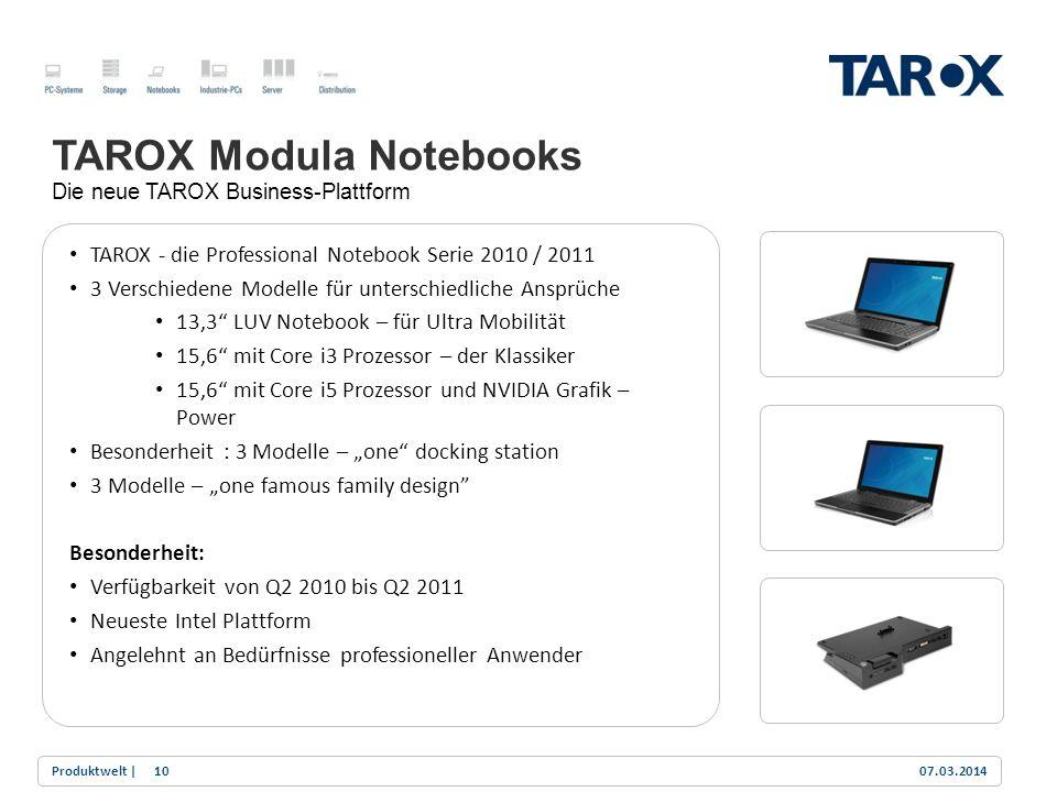 TAROX Modula Notebooks
