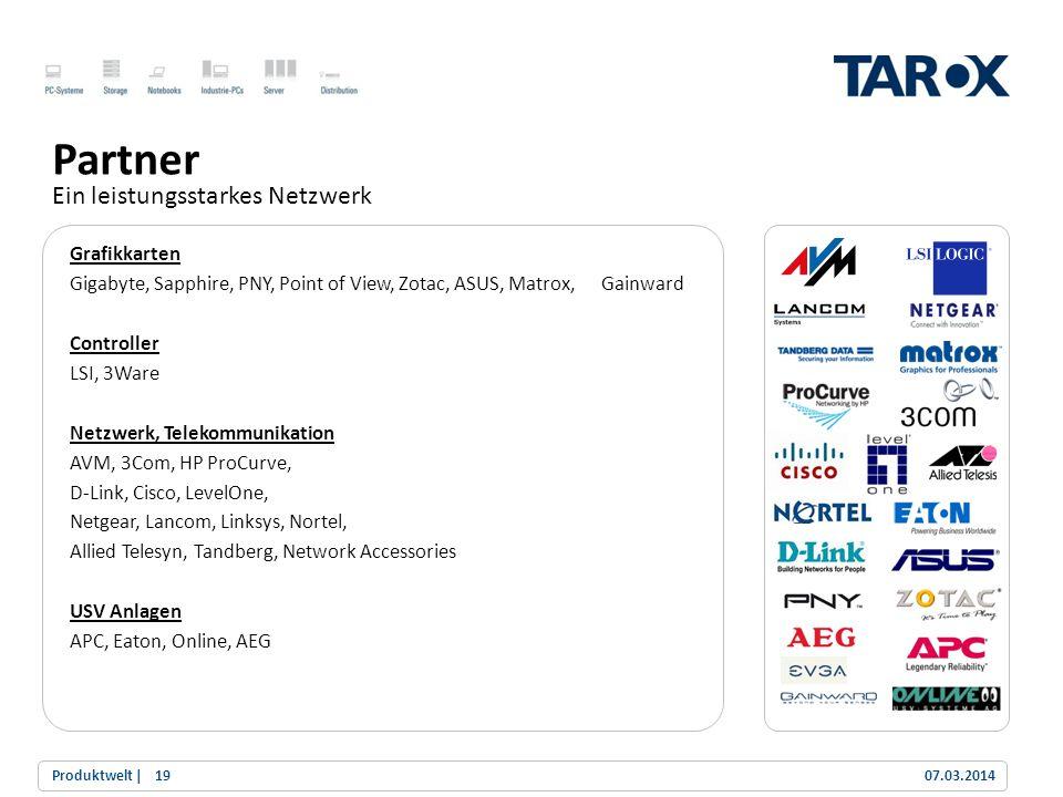 Partner Ein leistungsstarkes Netzwerk Grafikkarten