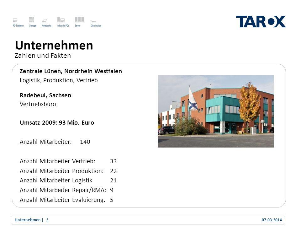 Unternehmen Zahlen und Fakten Zentrale Lünen, Nordrhein Westfalen
