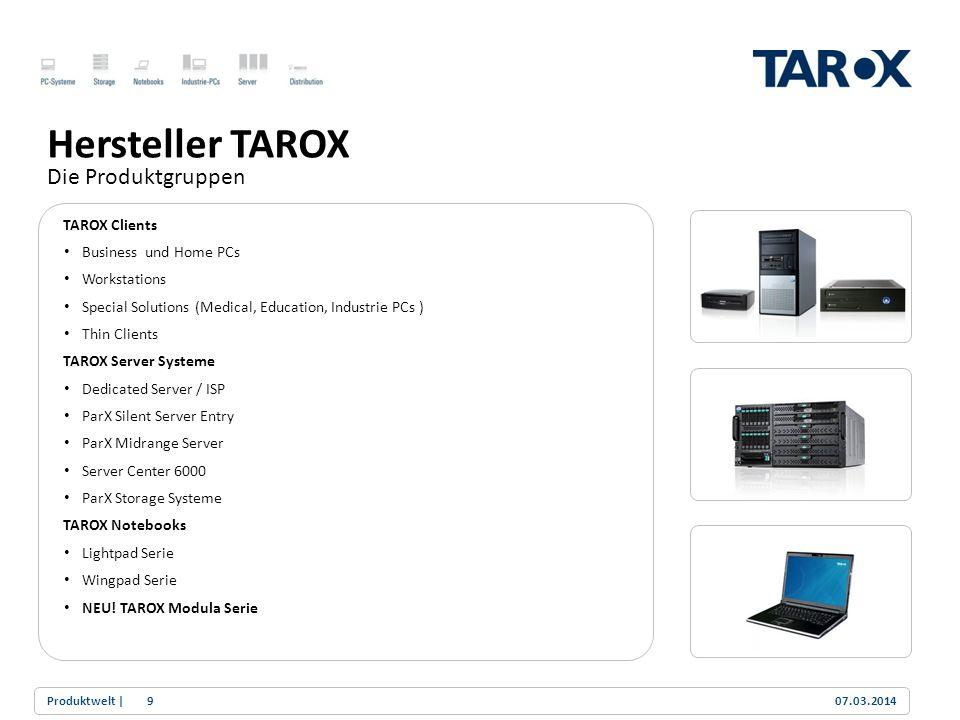 Hersteller TAROX Die Produktgruppen TAROX Clients