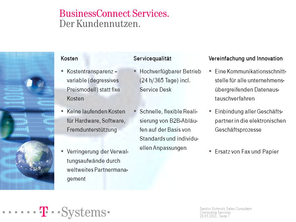 BusinessConnect Services. Der Kundennutzen.