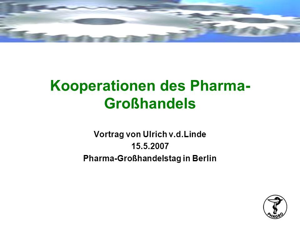 Kooperationen des Pharma-Großhandels