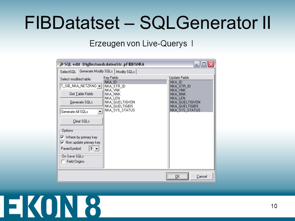 FIBDatatset – SQLGenerator II