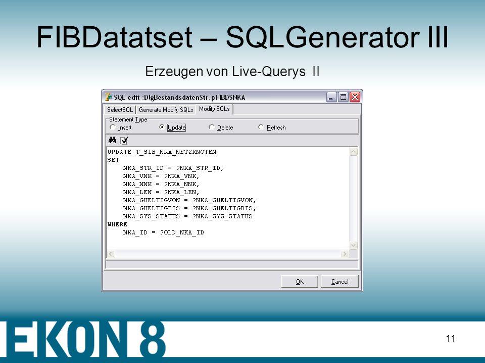 FIBDatatset – SQLGenerator III
