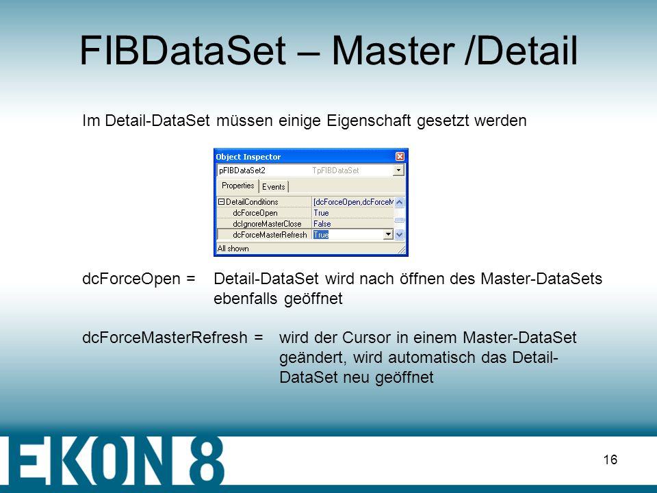FIBDataSet – Master /Detail