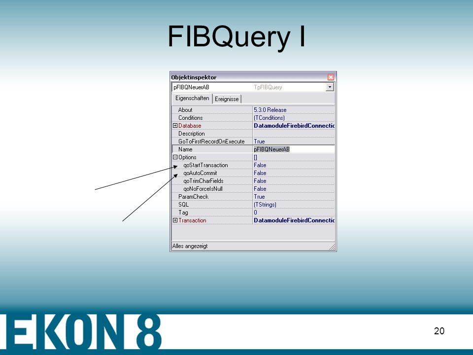 FIBQuery I