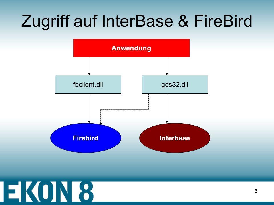 Zugriff auf InterBase & FireBird