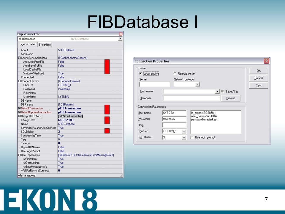 FIBDatabase I