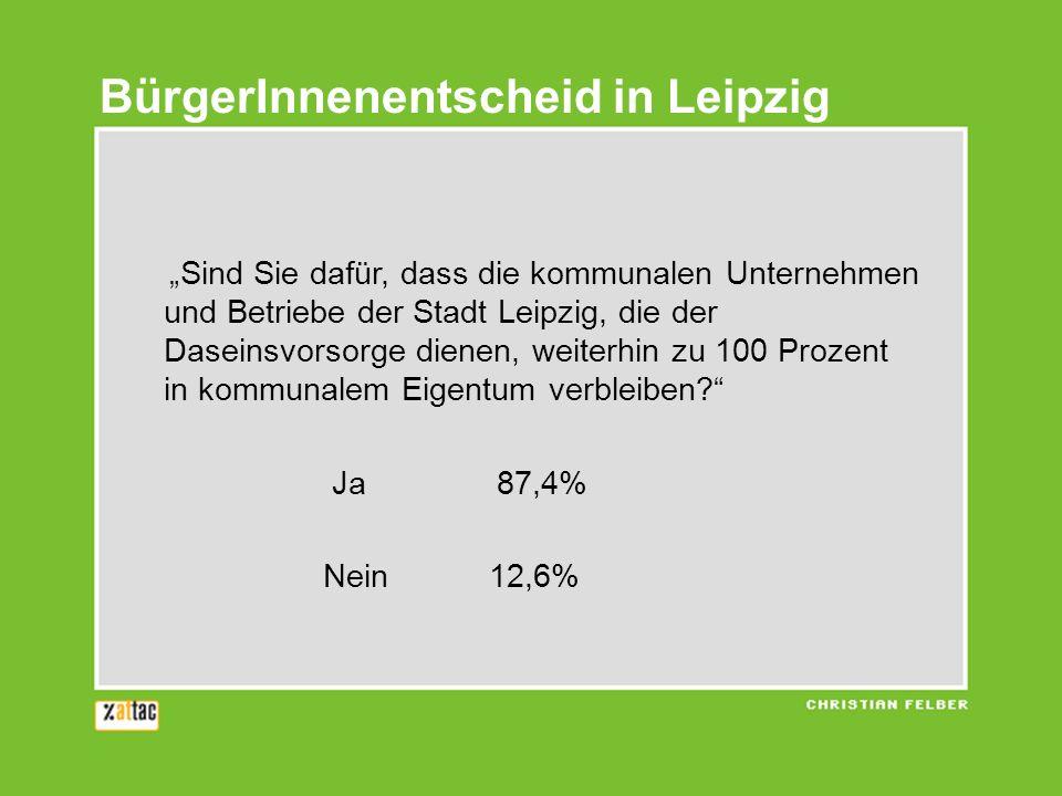 BürgerInnenentscheid in Leipzig