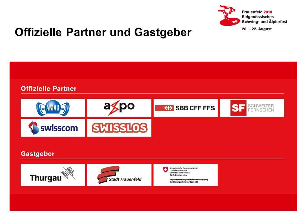 Offizielle Partner und Gastgeber