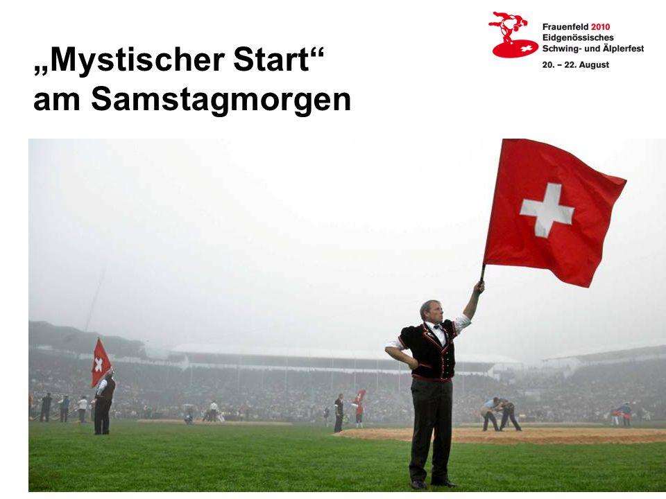 """""""Mystischer Start am Samstagmorgen"""