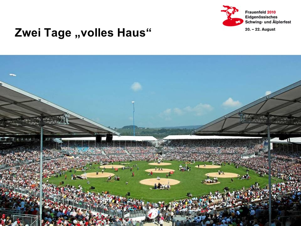 "Zwei Tage ""volles Haus"