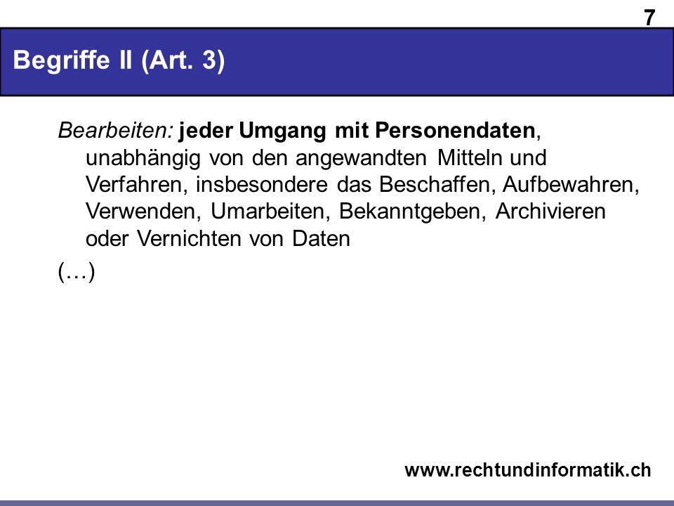 Begriffe II (Art. 3)