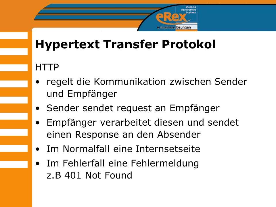 Hypertext Transfer Protokol