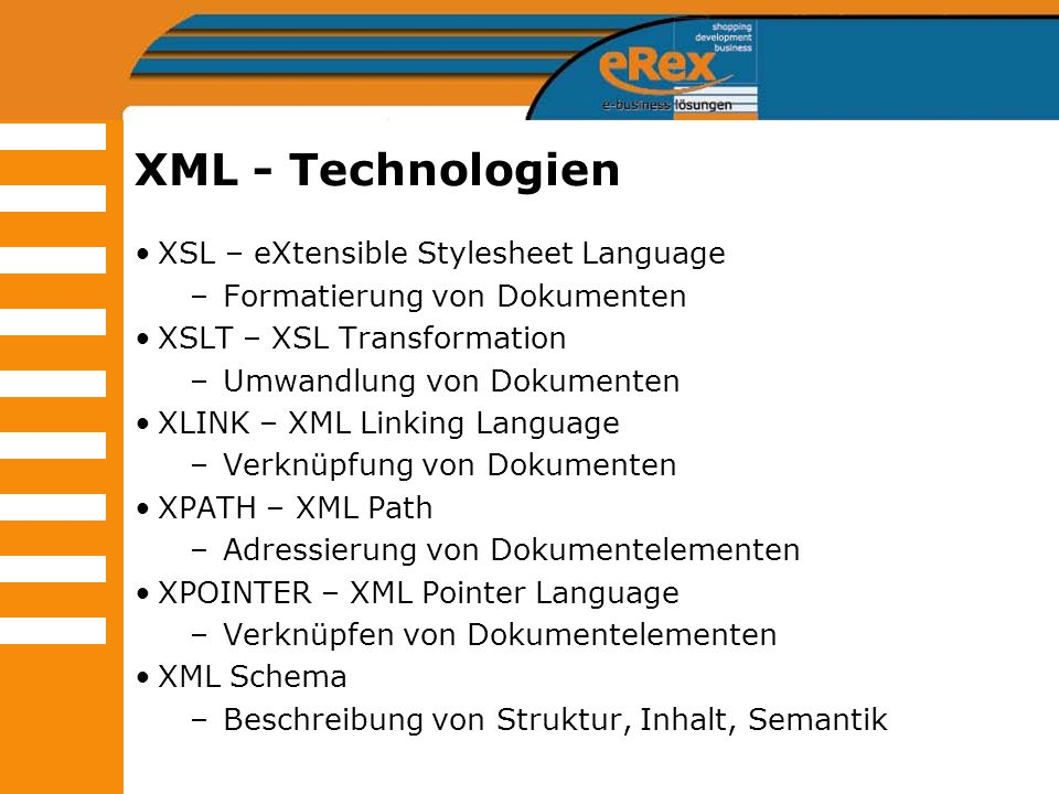 Seminar: Web-Technologien im Überblick