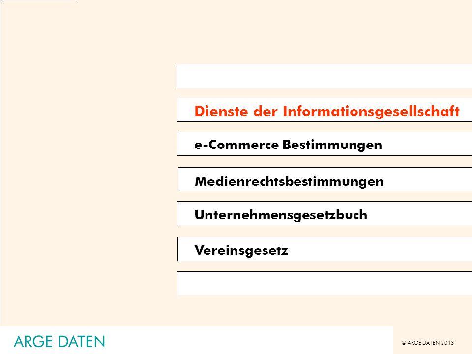 ARGE DATEN Dienste der Informationsgesellschaft