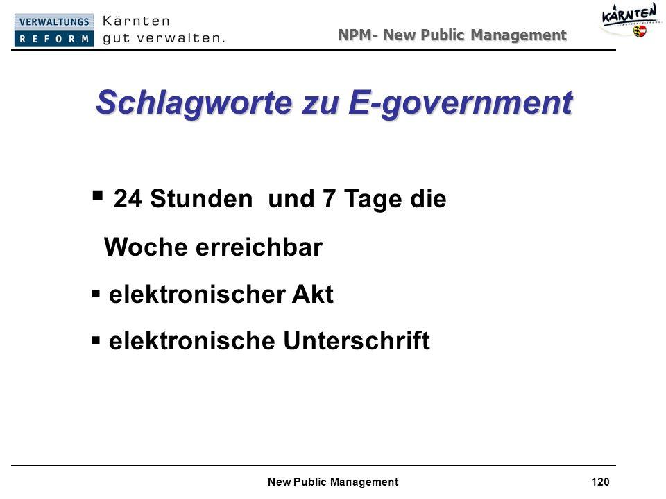 Schlagworte zu E-government