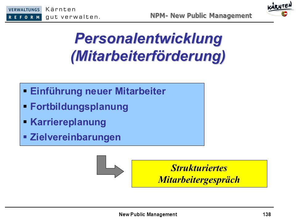Personalentwicklung (Mitarbeiterförderung)