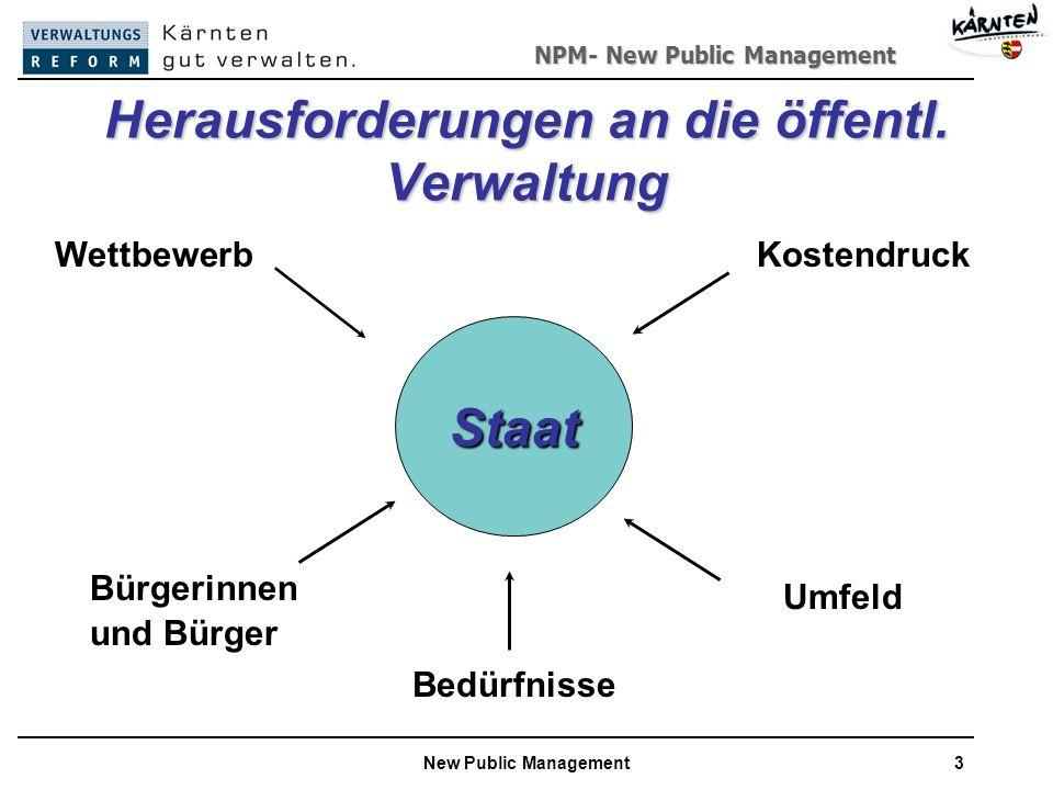 Herausforderungen an die öffentl. Verwaltung
