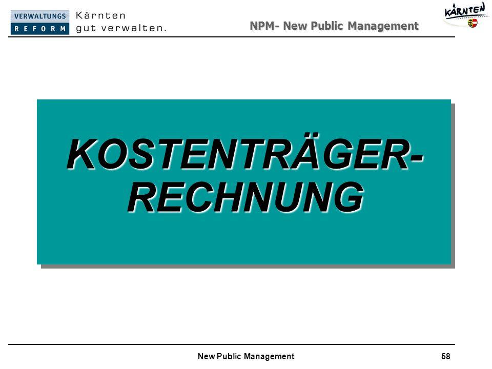 KOSTENTRÄGER-RECHNUNG