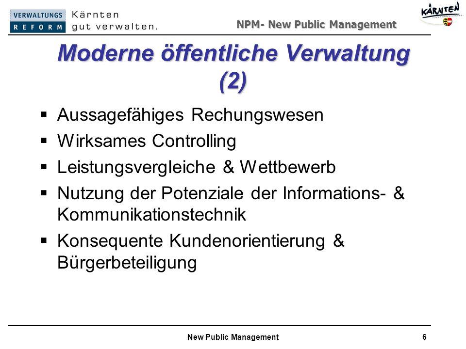 Moderne öffentliche Verwaltung (2)